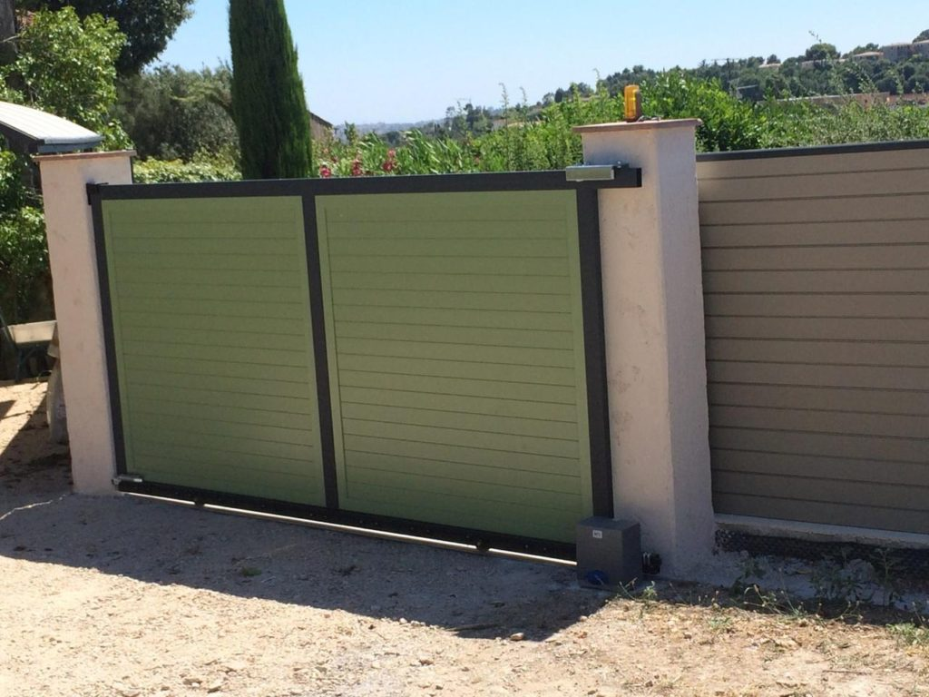 BFT Sliding Gate Automation